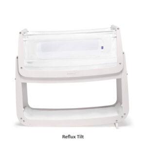 SnuzPod 4 Bedside Crib with Mattress - Rose White 11