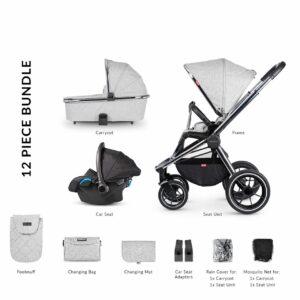 Venicci Tinum 2 Travel System - City Grey 12