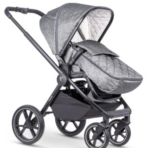 Venicci Tinum 2 Travel System inc. ULTRALITE Car Seat - Magnetic Grey 10