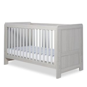 Ickle Bubba Pembrey Cot Bed & Dresser - Ash Grey 12