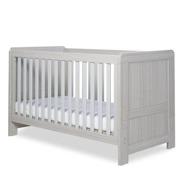 Ickle Bubba Pembrey Cot Bed & Dresser - Ash Grey 6