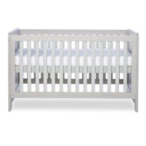 Ickle Bubba Pembrey Cot Bed & Dresser - Ash Grey 8