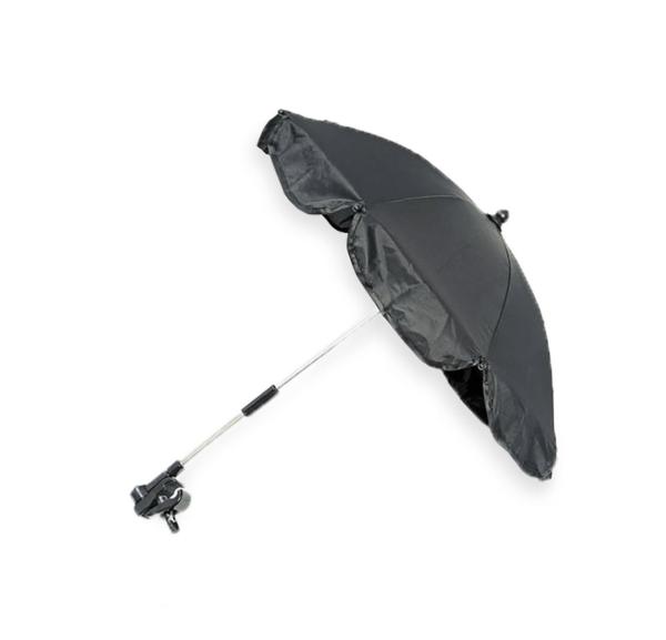Black Universal Waterproof Parasol 2