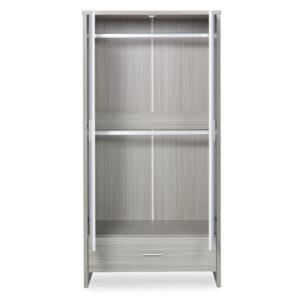 Ickle Bubba Pembrey 4 Piece Furniture Set & Under Bed Drawer - Ash Grey & White Trend 7