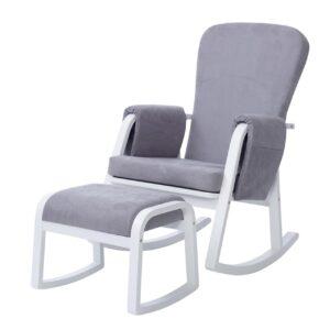Pembrey 8 Piece Furniture Bundle - Ash Grey & White Trend 8