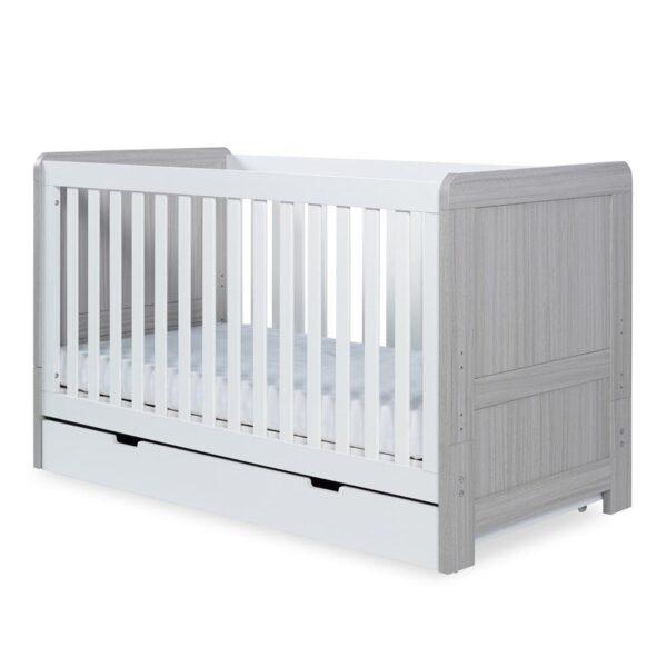 Pembrey 8 Piece Furniture Bundle - Ash Grey & White 7