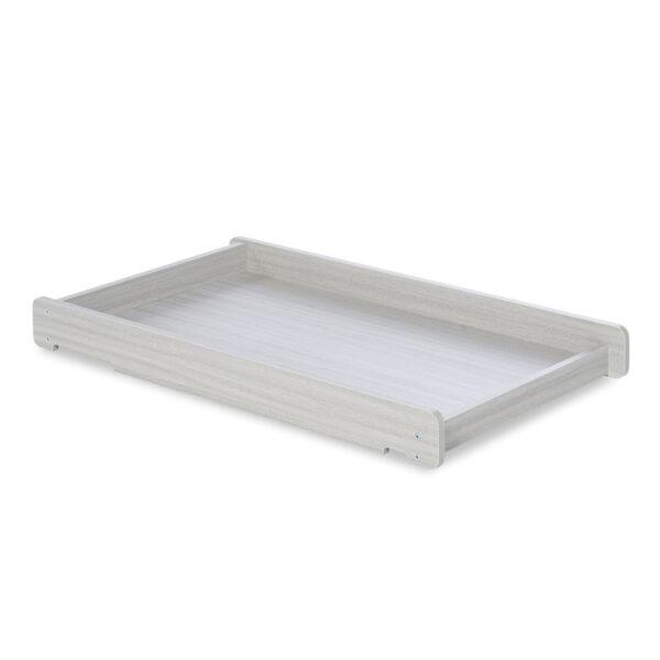 Ickle Bubba Pembrey 9 Piece Furniture Bundle - Ash Grey & White Trend 2