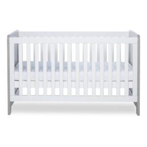 Ickle Bubba Pembrey Cot Bed & Dresser - Ash Grey & White 9