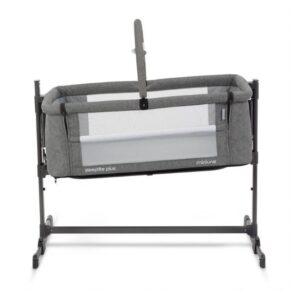 Miniuno Sleeptite Plus Co-Sleeping Crib - Grey 12