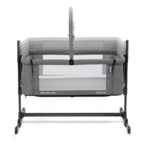 Miniuno Sleeptite Plus Co-Sleeping Crib - Grey 11