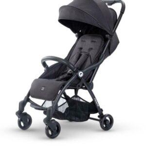 Miniuno TouchFold Stroller - Black Herringbone 12
