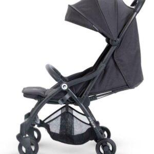Miniuno TouchFold Stroller - Black Herringbone 11