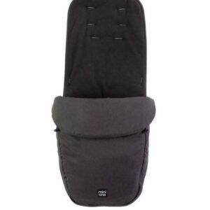 Miniuno TouchFold Stroller - Black Herringbone 13