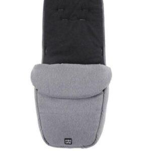 Miniuno Touchfold Stroller - Grey Herringbone 13