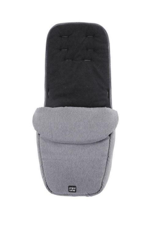 Miniuno Touchfold Stroller - Grey Herringbone 6