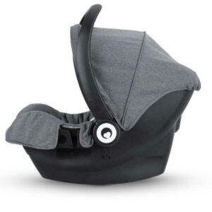 Miniuno TouchFold Travel System - Grey Herringbone 21