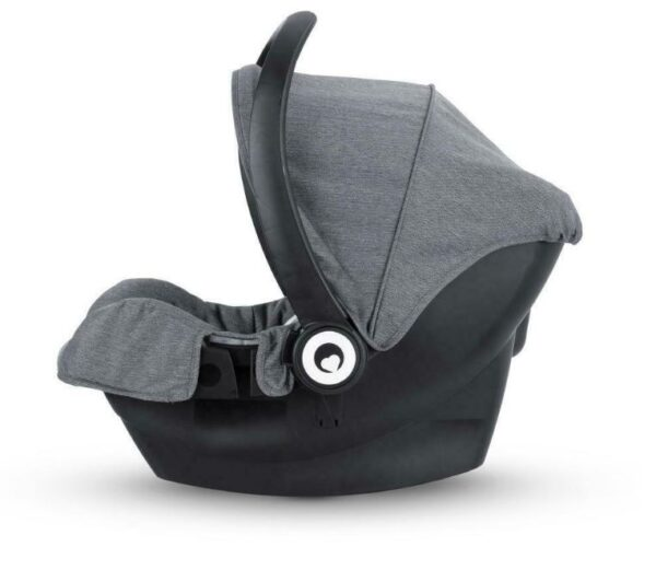 Miniuno TouchFold Travel System - Grey Herringbone 9