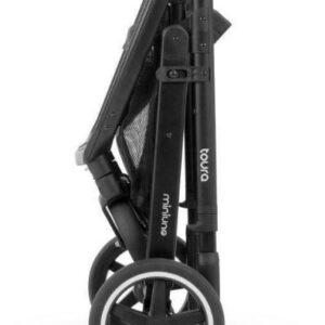 Miniuno Toura Travel System - Black Herringbone 20