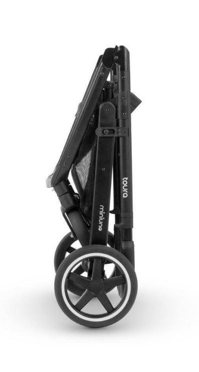 Miniuno Toura Travel System - Black Herringbone 8
